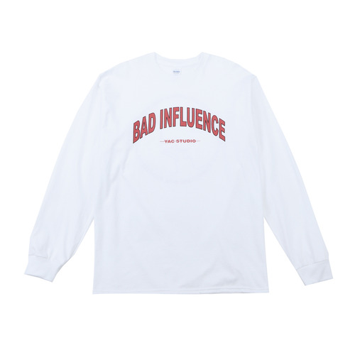 BAD INFLUENCE LONG SLEEVE (RED)