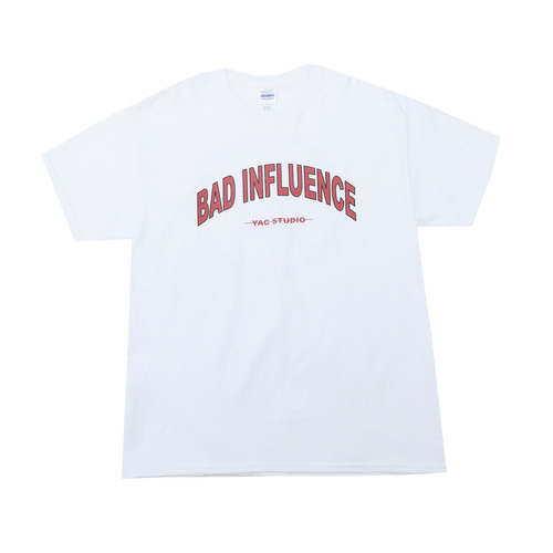 BAD INFLUENCE SHORT SLEEVE (RED)