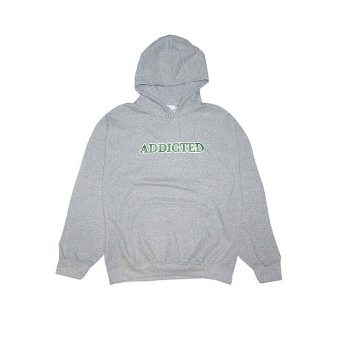 ADDICTED HOODIE (GREY)