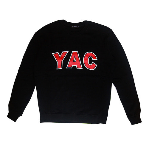 YAC SWEATSHIRTS (BLACK)