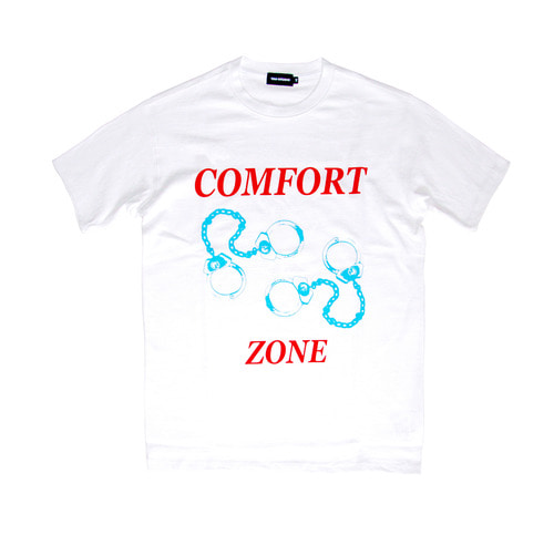 COMFORT ZONE SHORT SLEEVE (WHITE)