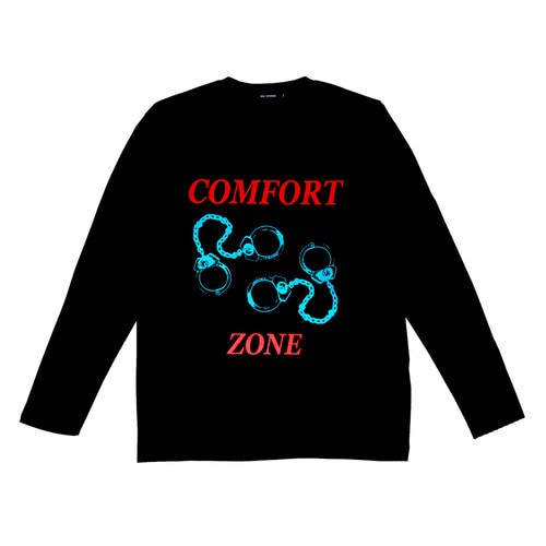 COMFORT ZONE LONG SLEEVE (BLACK)