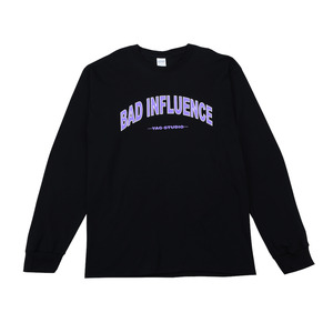 BAD INFLUENCE LONG SLEEVE (LAVENDER)