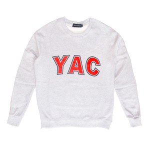 YAC SWEATSHIRTS (GREY)