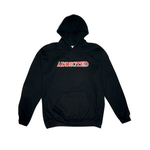 ADDICTED HOODIE (BLACK)